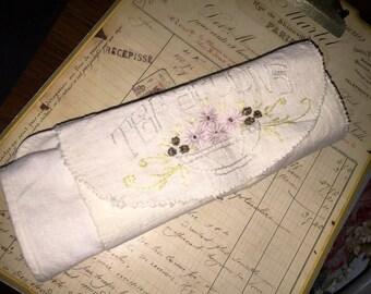 Vintage Teaspoon Roll-Up Holder