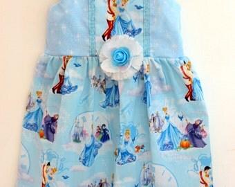 Cinderella dress, princess dress, aurora dress,  girls dress, boutique dress, toddler dress, birthday dress