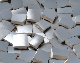Mosaic Tiles-- Gray Satin--60 ct.