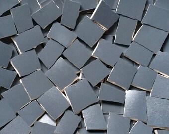 Mosaic Tiles-- Charcoal Gray- Satin-100 ct.