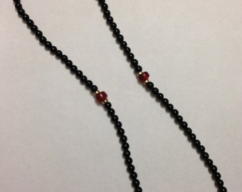 100 Bead Prayer Rope with Silver Accents