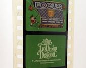 Vintage Childrens Filmstrip - Lollipop Dragon Valentine Party - Film Strip - 35mm film - childrens story - holiday