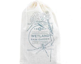 Wetland Rain Garden Calumet Region Seed Bombs LIMITED EDITION