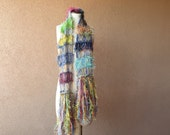 RESERVED custom order scarf by Crickets Creations