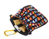 The Pocket 2.0 - Treat and Training Pouch - Nautical Flags