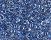 Triangle 5/0 Beads TR-1557 Sparkling Blue Line Crystal