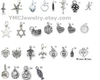 Sterling Silver Add Charms