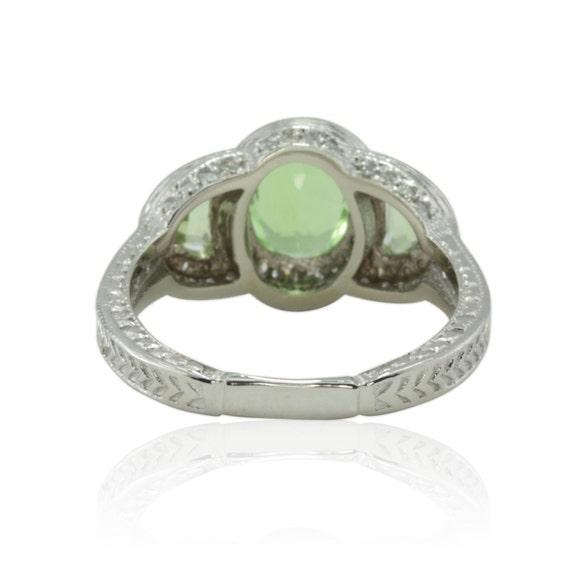 Engagement Ring Paraiba Copper Bearing By Lauriesarahdesigns