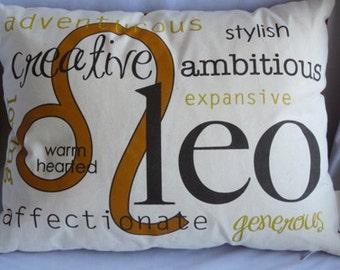 Leo Zodiac Pillow