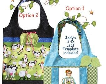 Pattern - Shopping Bag for Jody's Art Panels or Focal Fabrics