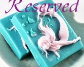 Baby Shower Soaps - Mermaid Shaped Goats Milk Soaps - Sweet Mermaid Kisses Fragrance - Great for Birthday Favors Wedding Favors