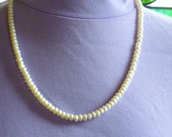 Popcorn Pearl Necklace