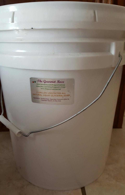 5 Gallon Liquid Soap Bulk Wholesale 100 All Natural Glycerin