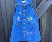 Vintage Butterfly Dress 4T