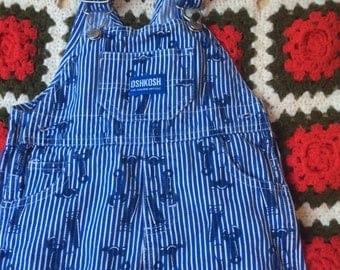 Tool Time Overalls 9-12 Months
