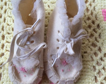 1950s Baby Shoes