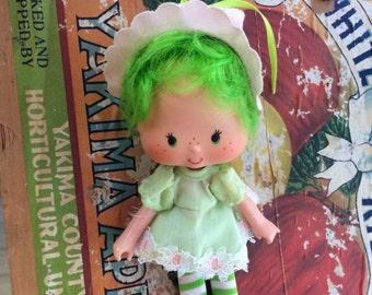 Lime Chiffon Doll