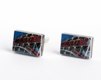 CUFFLINKS - Cuff Links, Cyclone Cuff Links