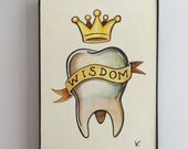 Wisdom Tooth - Original art by Kevin Kosmicki