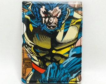 Sewn Comic Book Wallet - X-Men - Wolverine