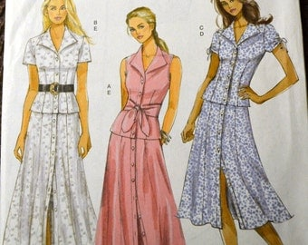 Sewing Pattern Butterick 5025 Misses' Tops and Skirt Bust 38-44 inches Complete Uncut