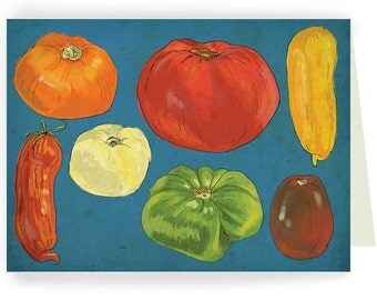 Big Tomatoes - Boxed Set of 8 Cards