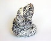 SILENT MOVIE, grey label merino alpaca hand dyed chunky weight yarn