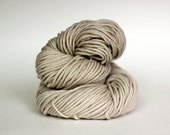SAND, grey label merino alpaca hand dyed chunky weight yarn