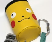 Pikachu Crag Critter, Hand Crafted Chalk Bag and Belt, Rock Climbing