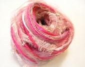 Yarn Variety Hank in pink...