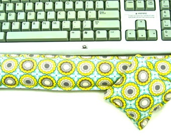 Computer Accessory, Keyboard Wrist Rest Support College Dorm Teacher Office Mouse Pad, Wrist Pad, Desk Set,