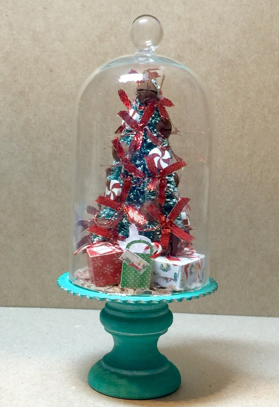 Items similar to rustic miniature christmas tree with