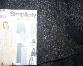 UNCUT Simplicity 7182 Pants, Shirt, Top, Hat, Sewing Pattern SEWBUSY12