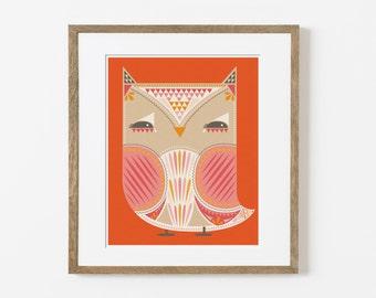 owling print