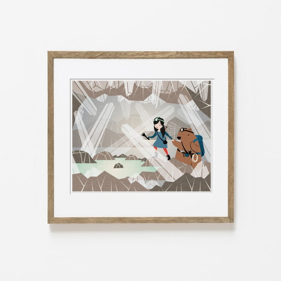 the crystal lake print