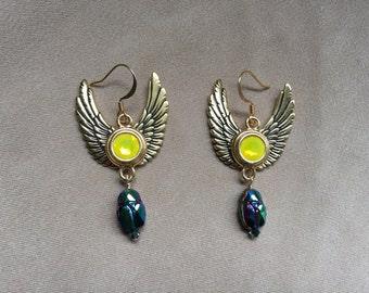 Khepri Earrings