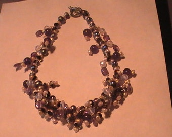 Pure Luxary Multi Gem Gemstone Necklace