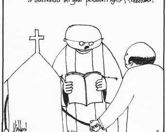 Surrender to the Church CARTOON
