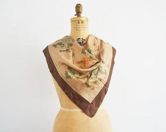 Liberty of London silk scarf -Japanese theme  silk scarf