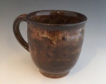 Coffee Mug - Mug- Coffee Cup - Brown Mug - Handmade Mug - Handmade Coffee Mug
