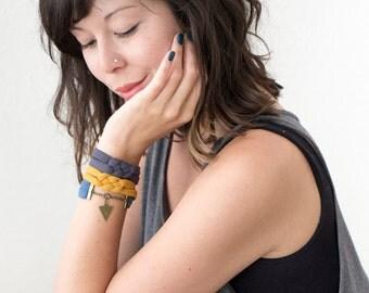 Knotted Bracelet // Sailor Knot Bracelet // Celtic Knot Cuff
