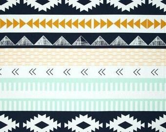 Boho Fabric, Tribal Fabric, Arizona Limited Edition fabric, April Rhodes, Art Gallery- Arid Horizon- Choose the cut, Free Shipping Available