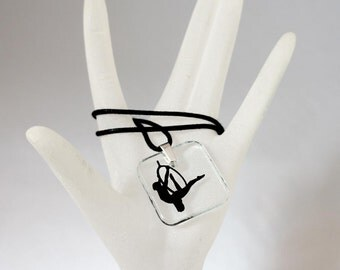Aerial Arts Necklace - Lyra/Hoop!  #5