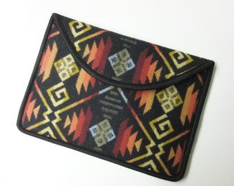 "13"" Macbook Pro Laptop Cover Sleeve Case Blanket Wool Southwest Print Wool from Pendleton Oregon"