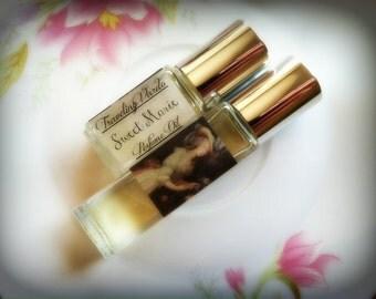 Sweet Marie Perfume Oil -  Vanilla Orchid Yellow Cake Sugar Cane Coconut Milk White Musk