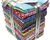 Whistler Studios STORYBOOK VACATION Fat Quarter Bundle 40 Precut Cotton Fabric Quilting FQs Windham