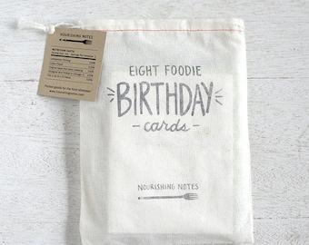 Set of 8 Birthday cards