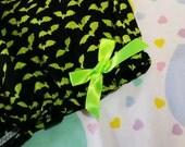 Bat bloomers, Halloween clothing gothic lolita rave shorts Custom Size