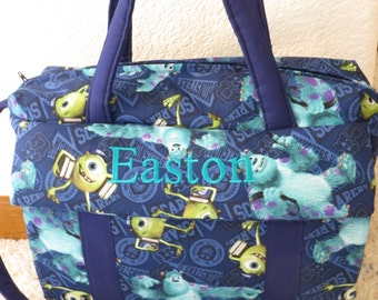Monsters Inc. Diaper Bag with changing pad by EMIJANE