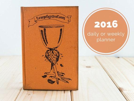 Transfiguration Notebook or Planner by Celestefrittata Bottega Online